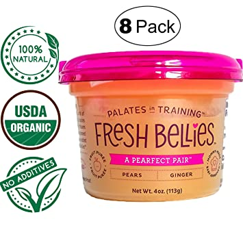 Fresh Bellies Vegan Baby Food for Kids and Toddlers, No Added Sugars, 100% Organic, ...