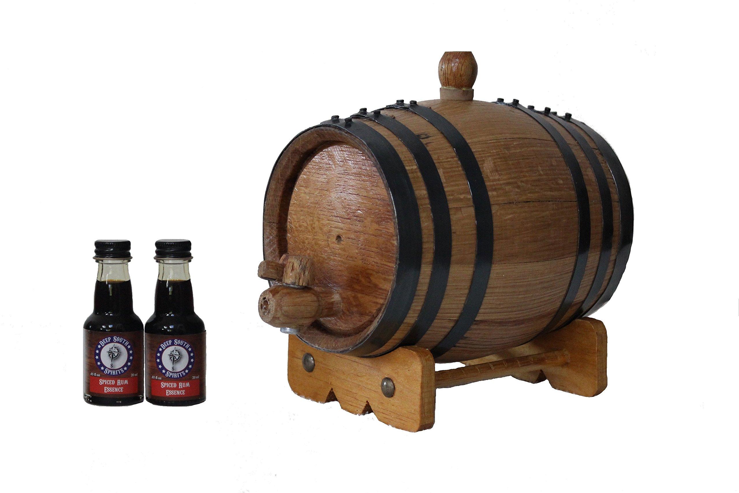 Deep South Barrels 1-Liter American White Oak Barrel Spiced Rum Kit