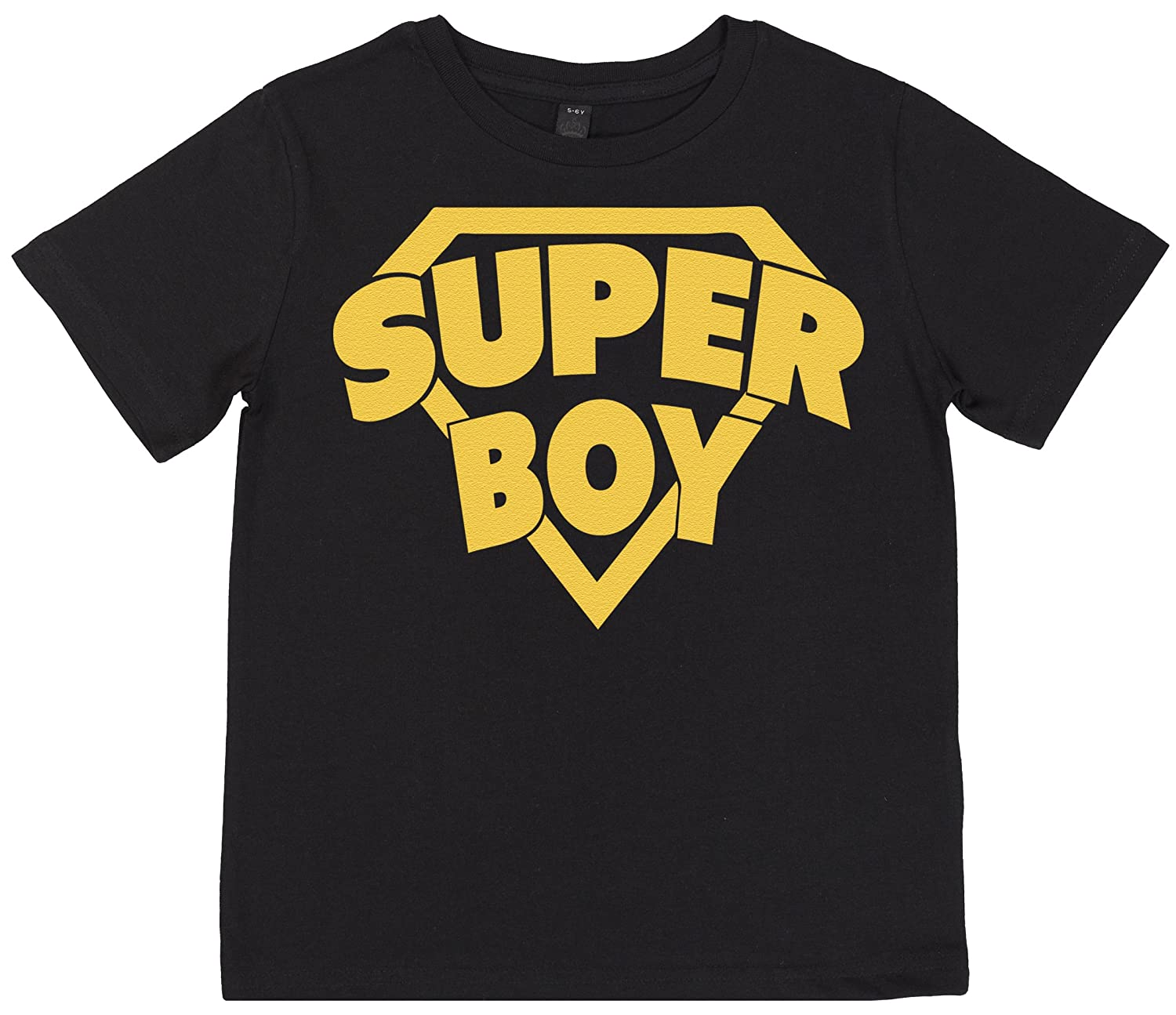 Boys Gift Kids T Shirt Girls Gift Super Boy Girls T-Shirt SR Boys T-Shirt Unisex T-Shirt