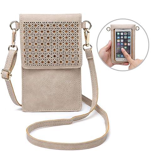 seOSTO Small Crossbody Bag Cell Phone Purse Wallet with 2 Shoulder Strap  Handbag for Women Girls 3cdd2ce683