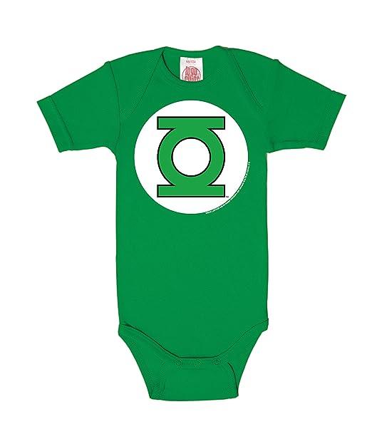 Logoshirt Body para bebé Linterna Verde - Logotipo - DC Comics - Green Lantern - Logo - Pelele para bebé - Verde - Diseño Original con Licencia: Amazon.es: ...