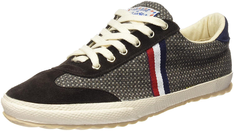 e7005e7079fe El Ganso Men s Match Fabric Vison Birdseye Ribbon Low-Top Sneakers Brown  Size  6  Amazon.co.uk  Shoes   Bags