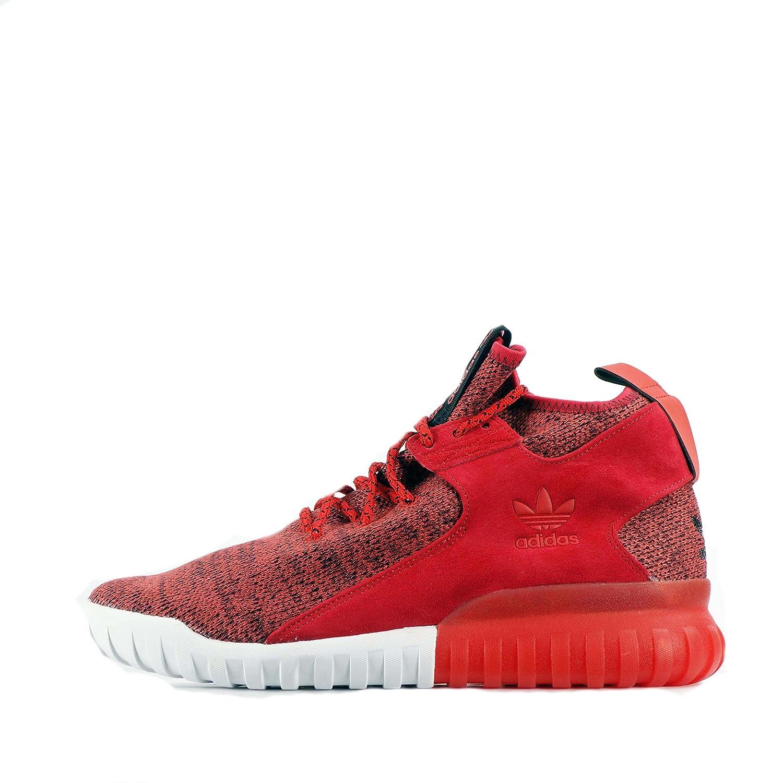 adidas Originals Tubular X Primeknit, Herren Sneaker rot Red