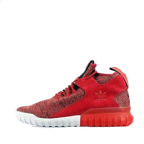 adidas Originals Adidas Originals Tubular X Primeknit - Zapatillas para Hombre Rojo Red/Red/Red 44 EU, Color Rojo, Talla 44.5: Amazon.es: Zapatos y ...