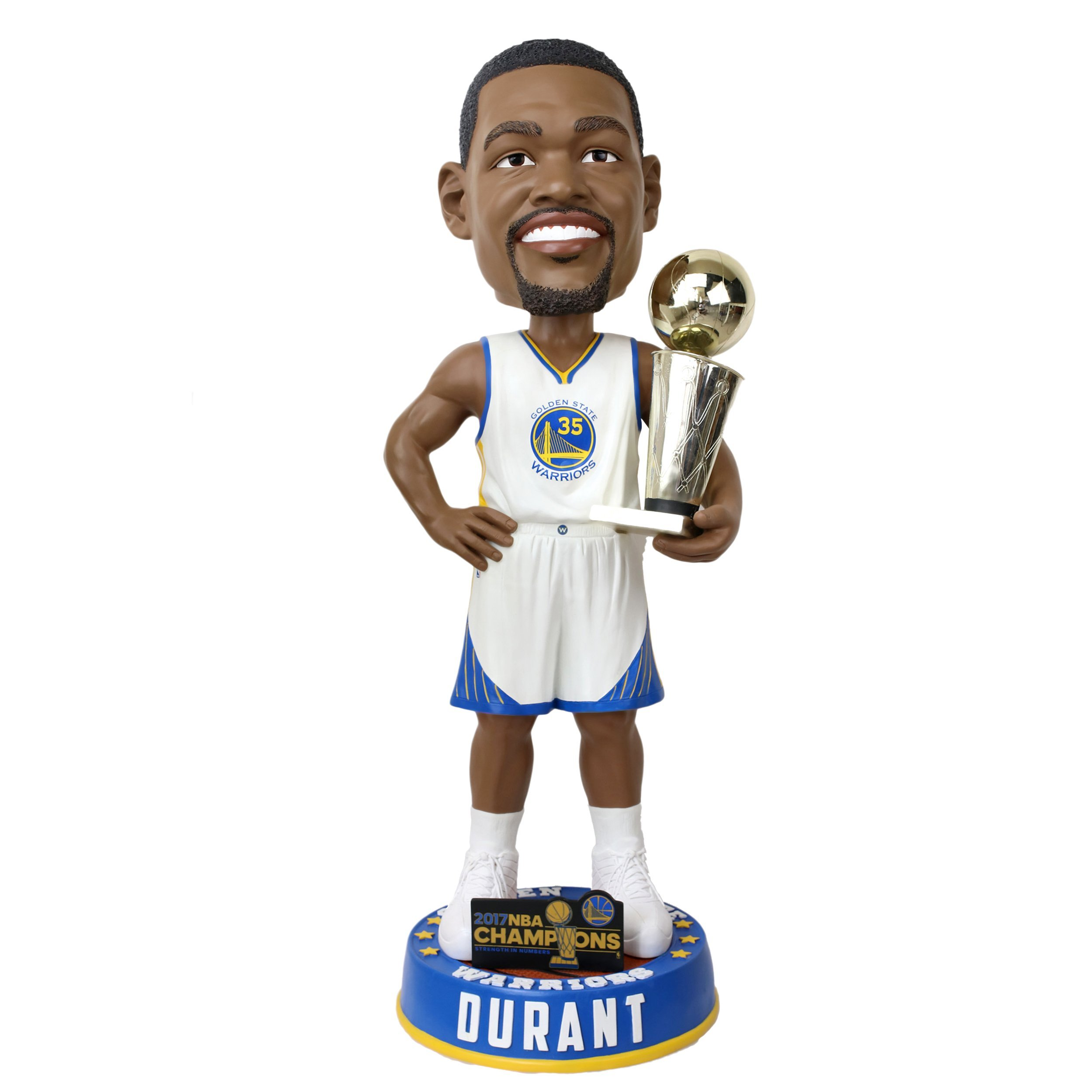 FOCO GOLDEN STATE WARRIORS DURANT K. #35 2017 NBA CHAMPIONS 36'' BOBBLE