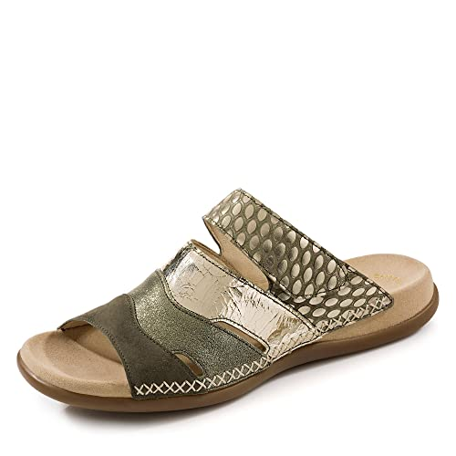 Gabor 83 704 Schuhe Damen Sandalen Best Fitting Pantoletten