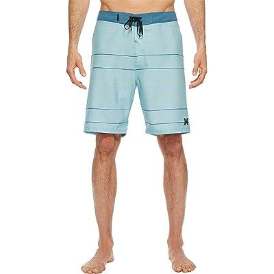 "Hurley Men's Main Street 20"" Boardshorts Ocean Bliss 40: Clothing"