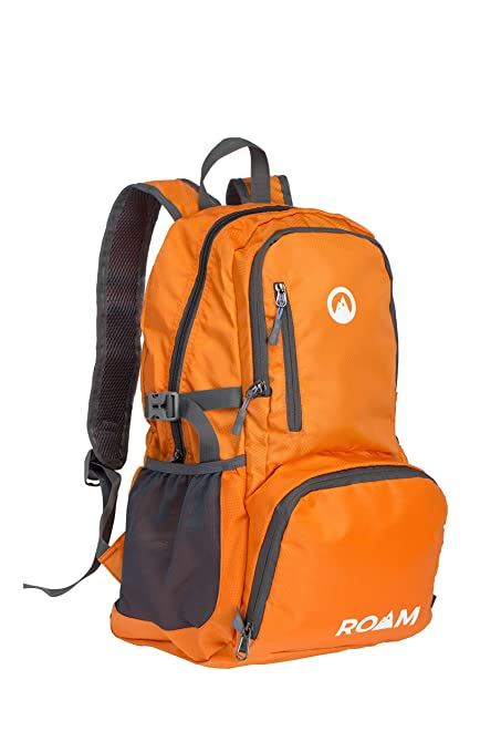 b4421945db3 Roam Packable Backpack – Lightweight Foldable Daypack Water-Resistant, 25L,  – Durable Tear