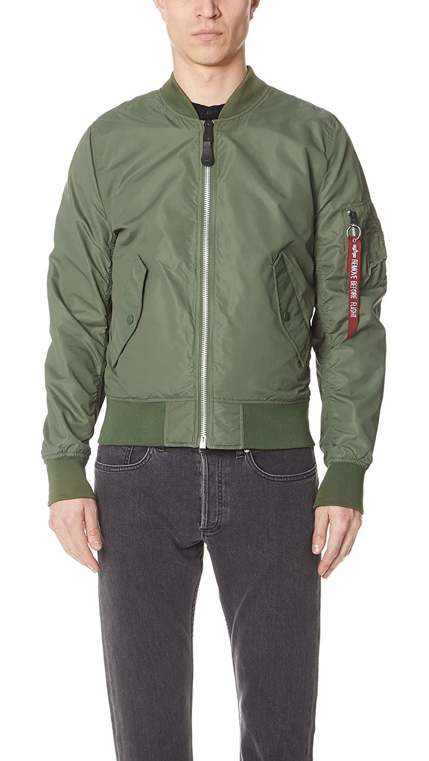 Alpha Industries OUTERWEAR メンズ B07815BZ93 X-Large|セージ セージ X-Large