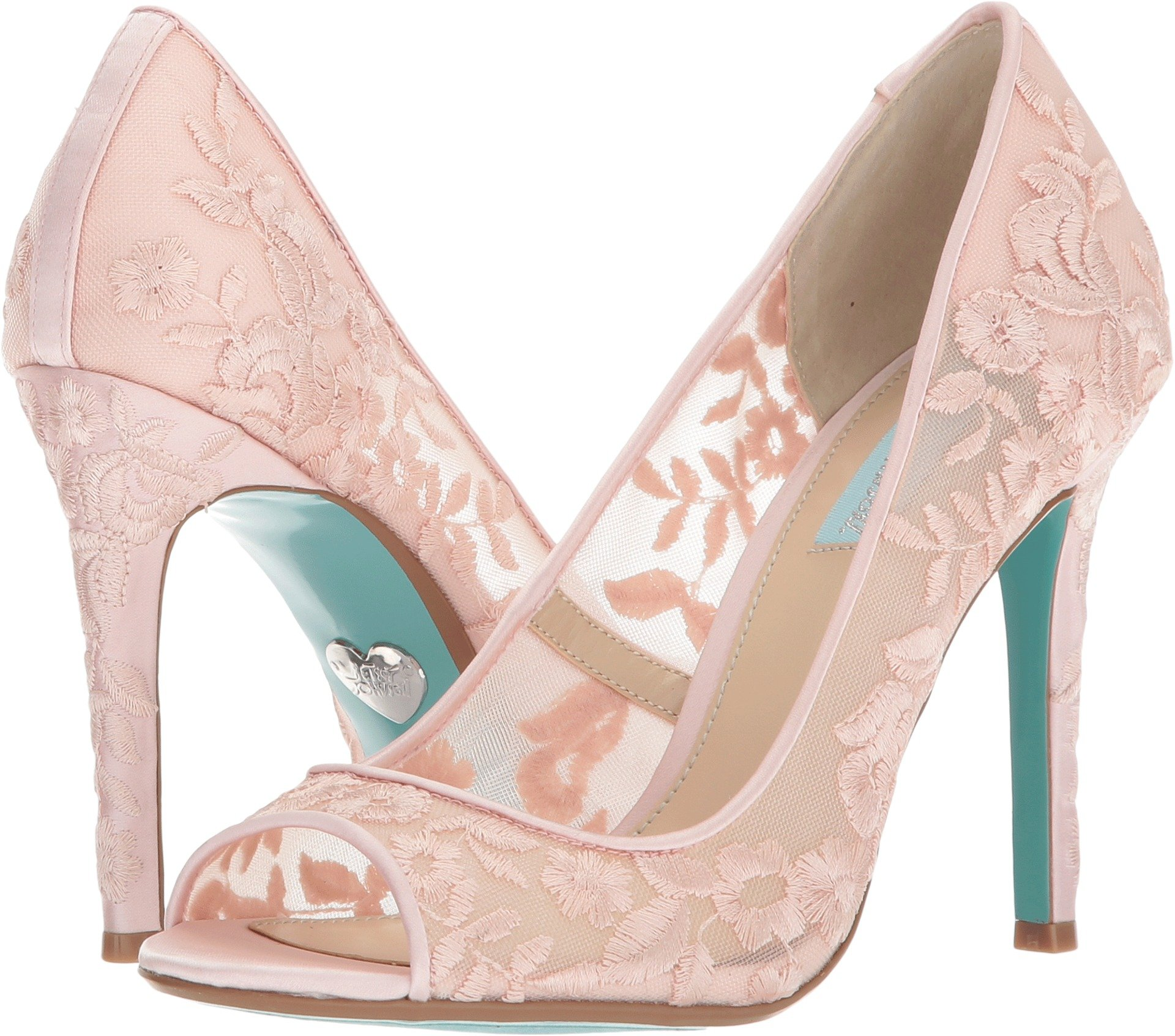 Blue by Betsey Johnson Womens Adley Blush 7 M