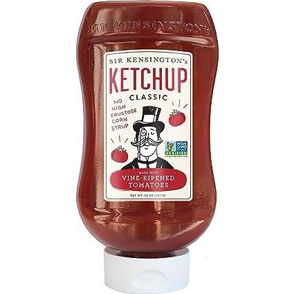 Sir Kensingtons - Clásica salsa de tomate con tomates madurados al vid - 20 ...