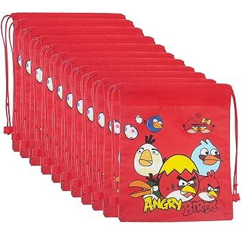 12 Pcs Angry Birds Dori Bag Haversack Gift Bags For Birthday Return Gifts Kids Amazonin Toys Games