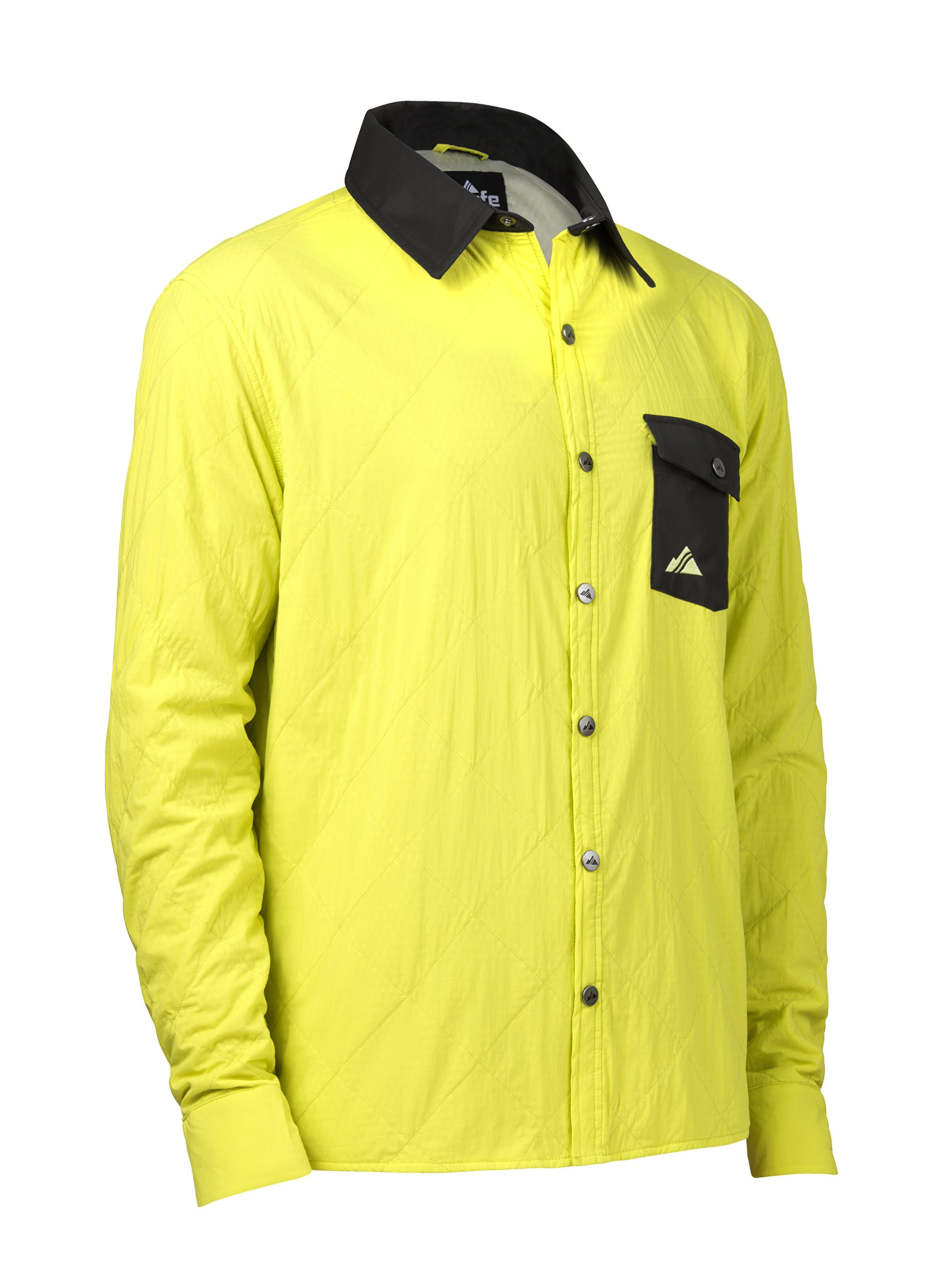 Strafe Outerwear Alpha Shirt Jacket, X-Large, Sulphur Spring by Strafe