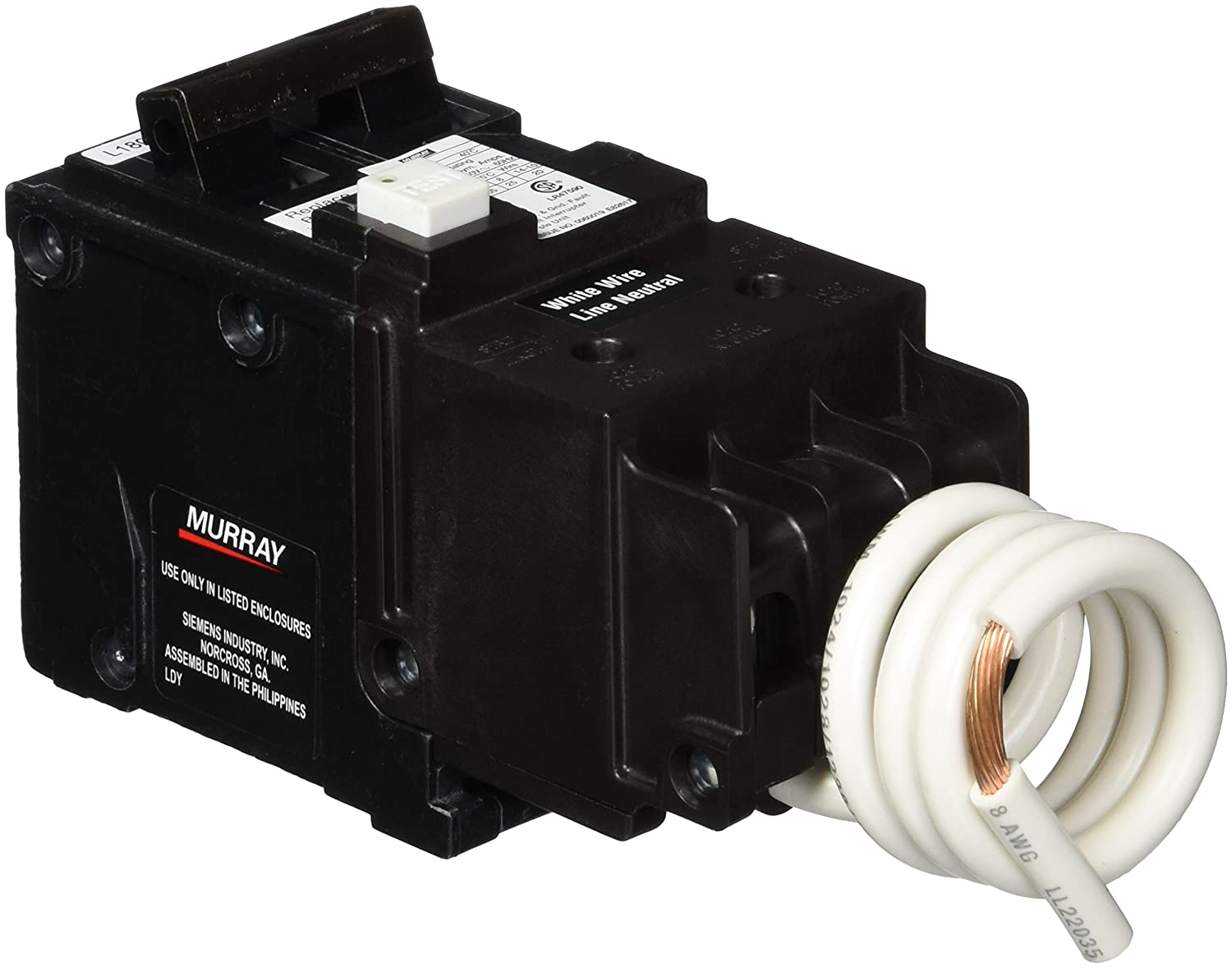 Siemens MP230GFAP 30 Amp, 2 Pole, 120/240V Ground Fault Circuit Interrupter with Self Test and Lockout Feature
