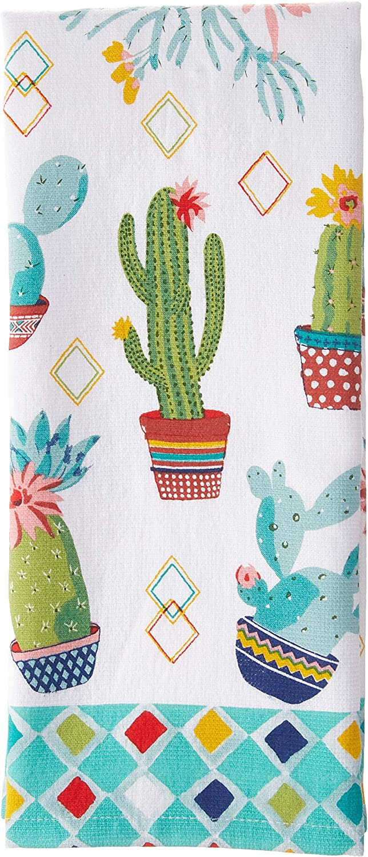 "Kay Dee Designs Cactus Garden Terry Kitchen Towel, 16"" x 26"", Various"