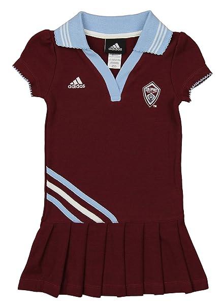 MLS - Vestido Polo para niña de Colorado Rapids, Atlético, 4T ...