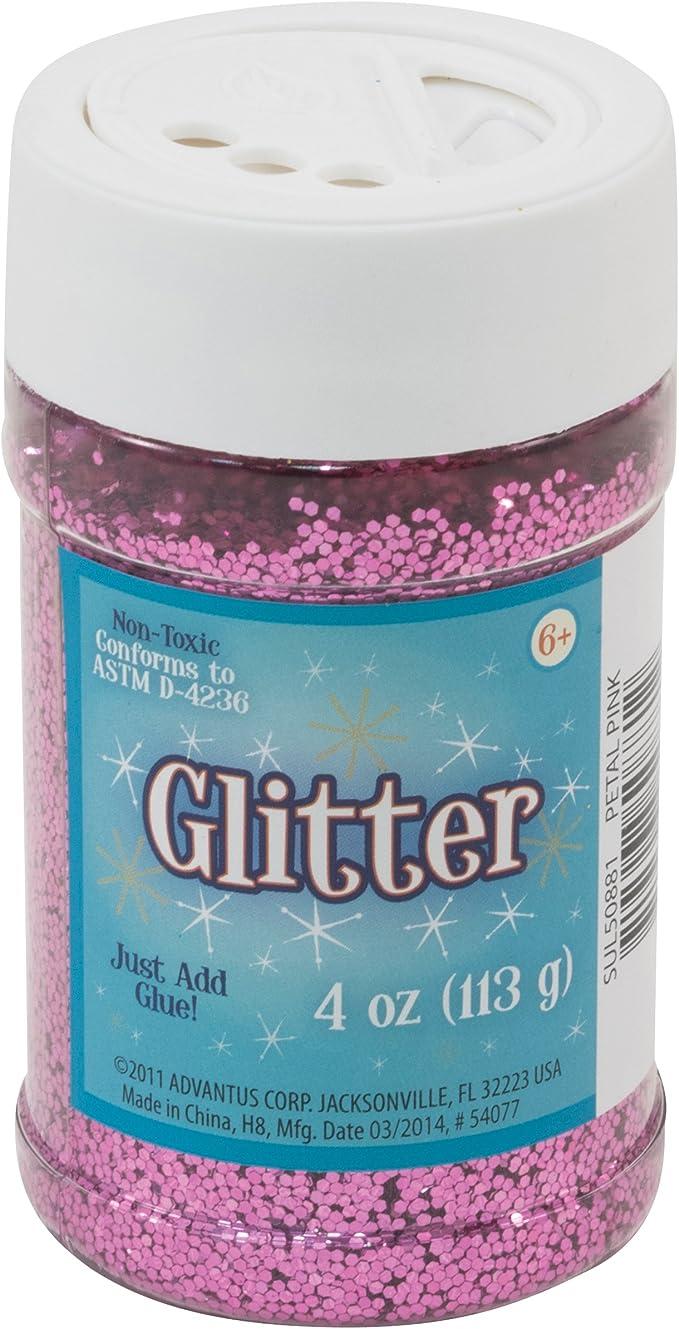 Glitzer Ros/é 7 g // fein Glitter