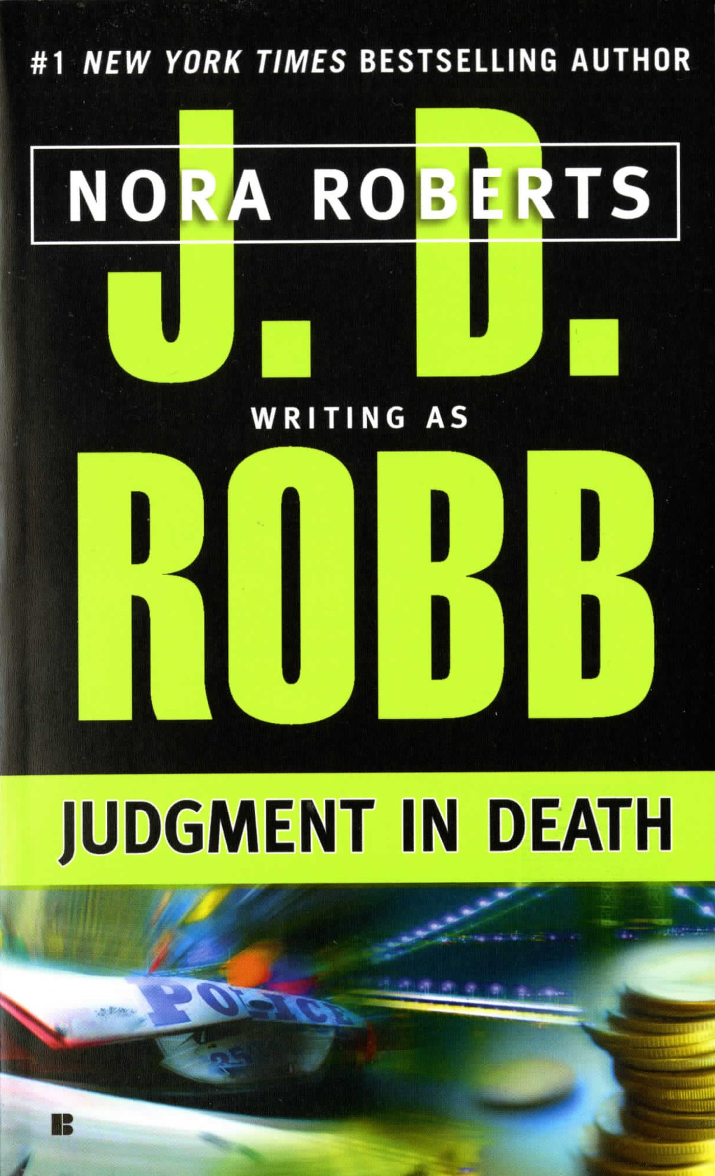 Judgment Death J D Robb product image