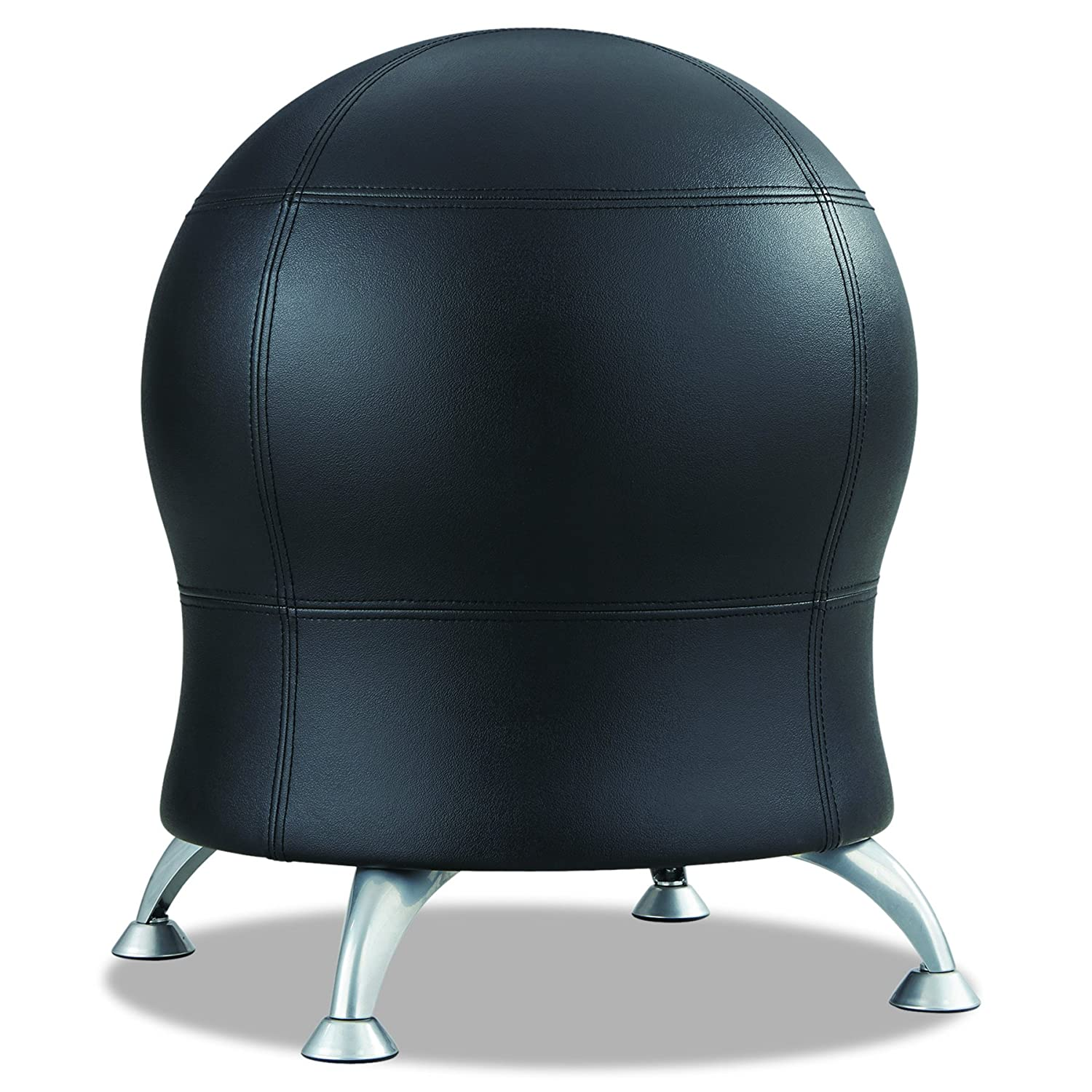 Safco Produkte 4750bl Zenergy Ball Chair Black Fabric Schwarz Safco Products
