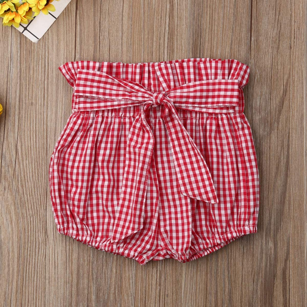 CQHY MALL Baby Girls Bowknot Harem Pants Toddler Infant Cute Summer Bloomer Shorts