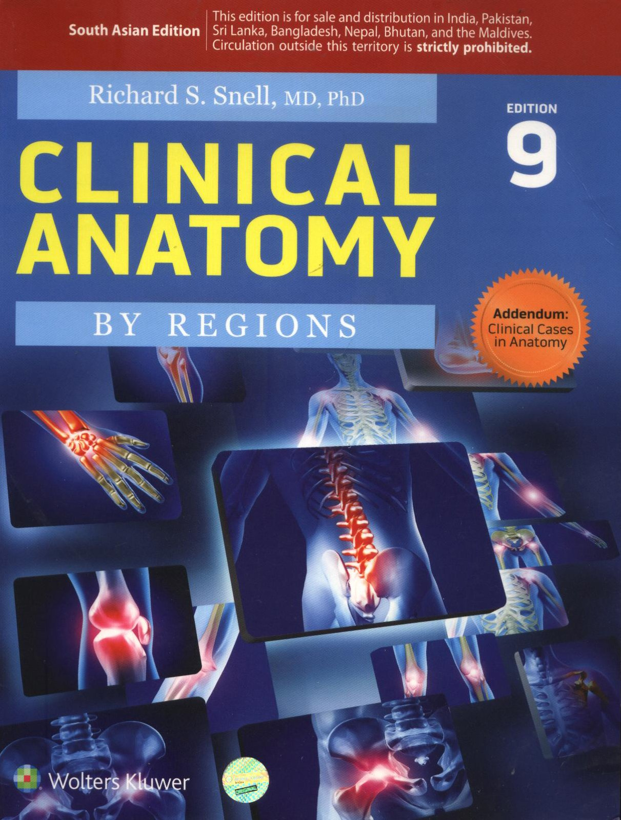 Amazon.in: Buy Clinical Anatomy 9th Edition Book Online at Low ...