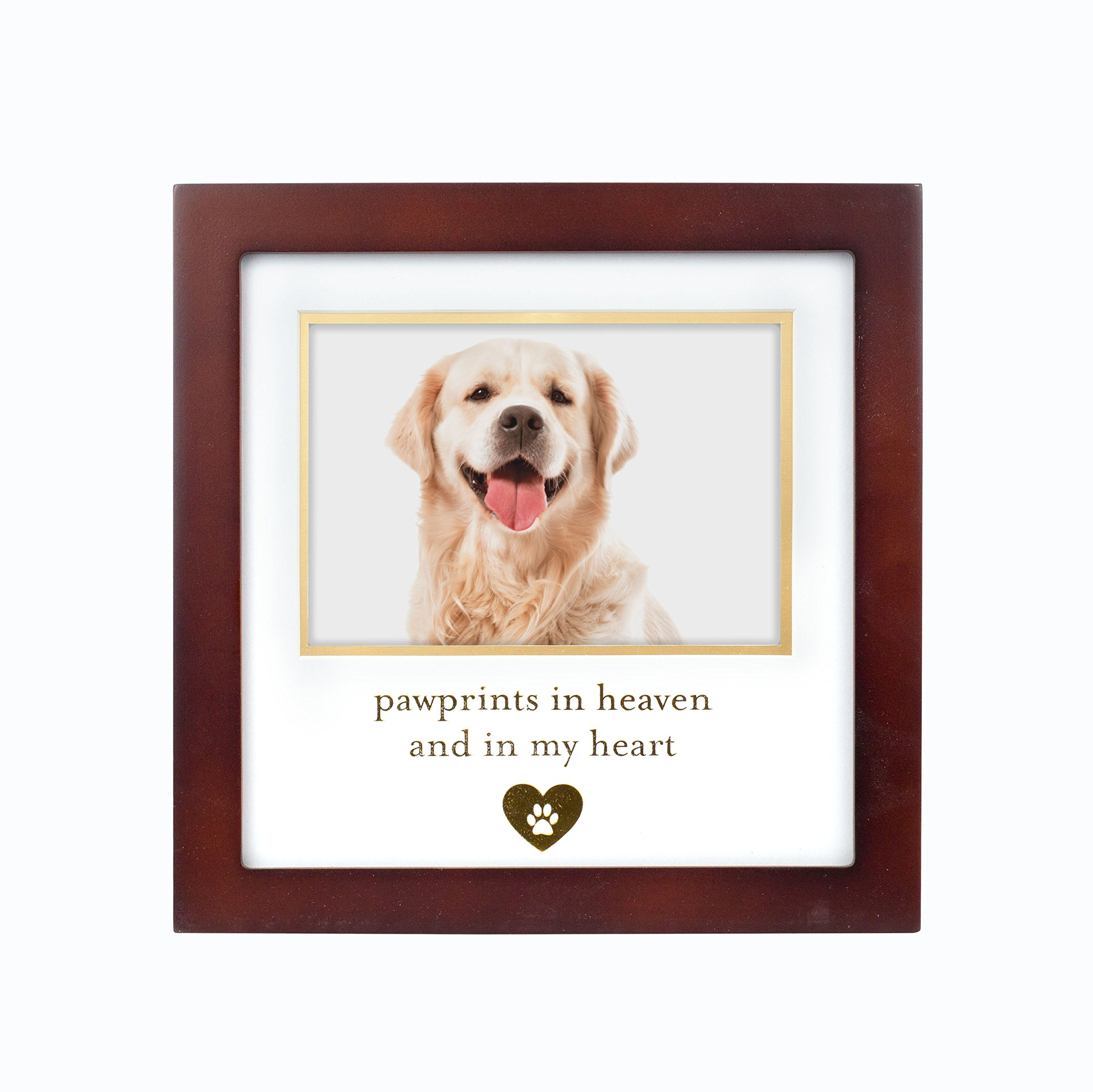 Pearhead 86017 Pet Keepsake Memorial Frame, Perfect Pet Keepsake or Memorial Gift.7 lb, Brown