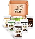 Sampler Starter Kit/ Set (5 Varieties) | Natural Healthy Brewed Cacao Drink | Great Substitute to Herbal Tea and Coffee…