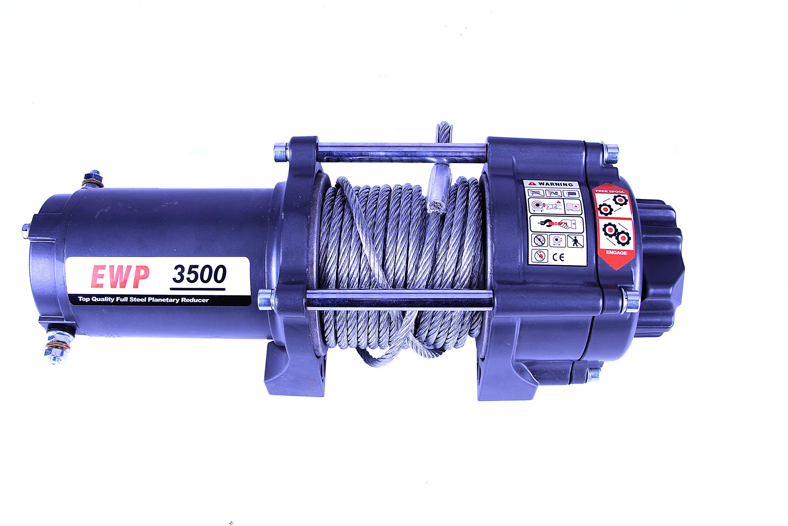 AC-DK 12V 3500lb ATV Winch UTV Winch Electric Winch Set for 4x4 Off Road (3500lb Winch with Cable) by AC-DK (Image #5)