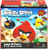 """Angry Birds 150 piece Super 3D Puzzle 12"""" X 18"""""""