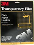 3M PP2500/20 Transparency Film Strip 20 Pack
