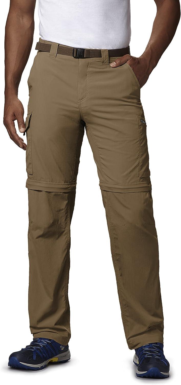 TALLA 30W / 34L. Columbia Silver Ridge Convertible, Pantalones Convertibles, Hombre