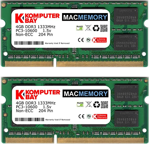 Memory RAM for Apple Mac Mini DDR3 2.66GHz Intel Core 2 Duo Mid 2010 1x4GB 4GB