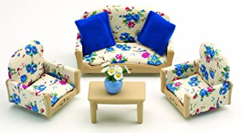 Sylvanian Families Sofa Armchairs Set Sylvanian Families