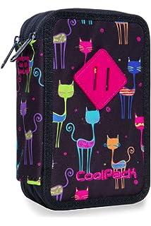 COOLPACK XXL Federtasche Federmappe Federm/äppchen 44-teilig gef/üllte Sch/üleretui 3-st/öckig 20 x 13,5 x 7 cm Cupcakes