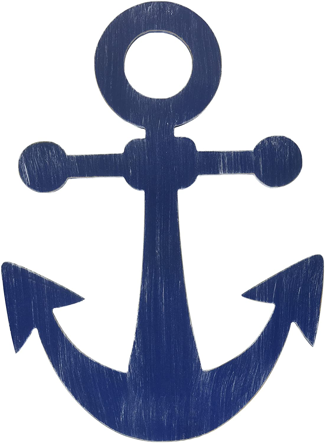 Little Love by NoJo Separates Collection 6 Piece Anchor Shaped Wall Art, Navy Crown Craft Infant Products 6603973