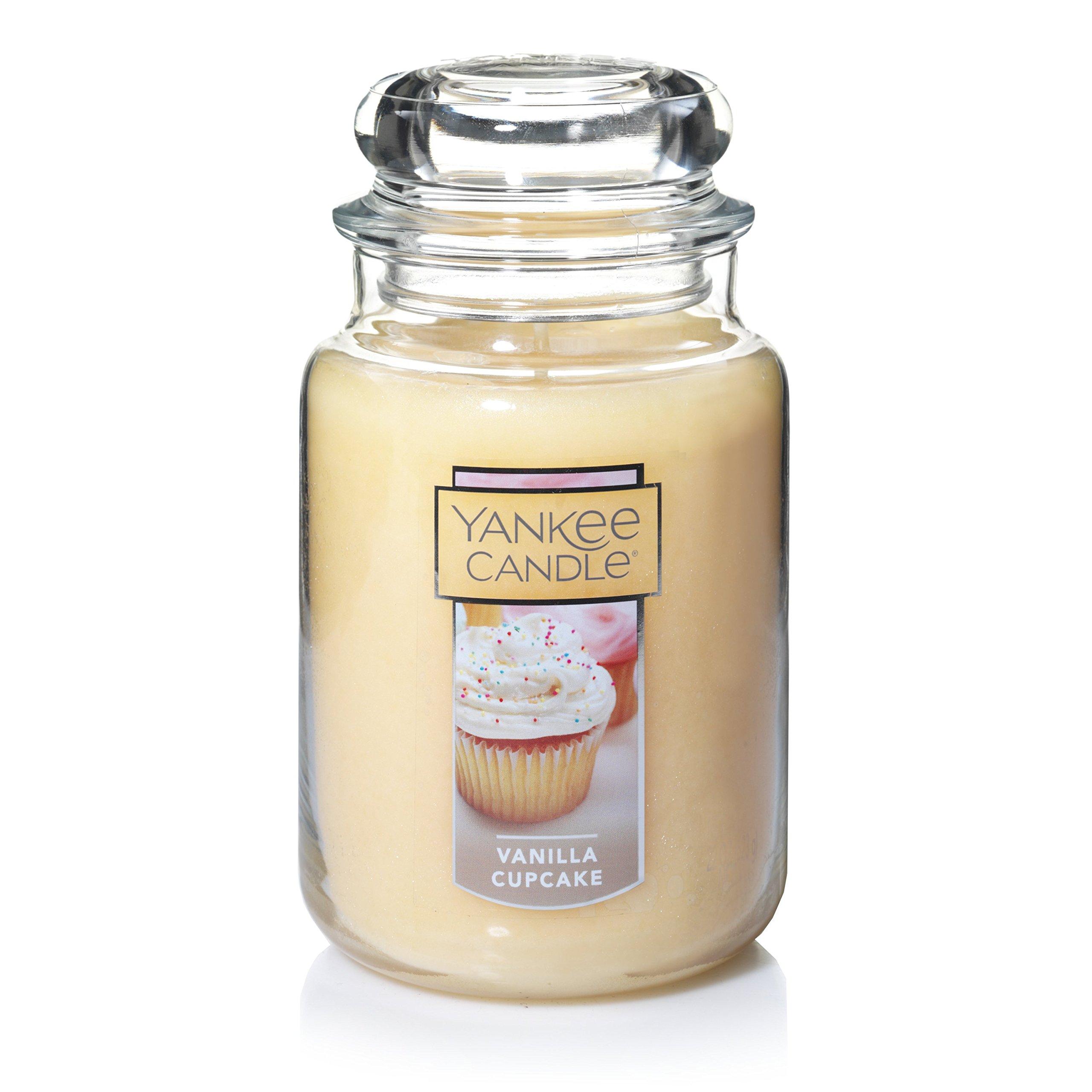 Yankee Candle Large Jar Candle Vanilla Cupcake by Yankee Candle