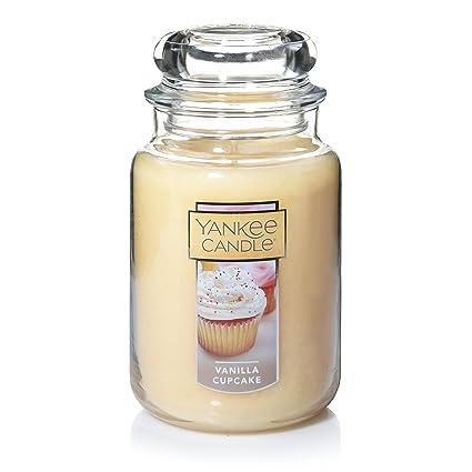 Amazon Yankee Candle Large Jar Vanilla Cupcake Home