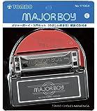 TOMBO トンボ ハーモニカ 初心者入門セット C調 10ホールズ メジャーボーイ CD付 1710CX