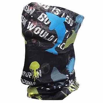 Pesca Sun máscara máscara – Aqua x Tubo para correr motocicleta Ciclismo Equitación en verano –
