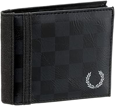 90dd8a8a4fde5 Fred Perry CHEQUERBORD MULTI FLIP WALLET L4168