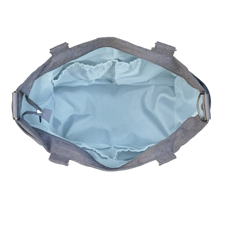 JJ Cole Caprice bolsa de pañales Gray Heather Talla:talla única: Amazon.es: Bebé