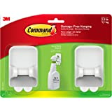 Command Spray Bottle Hangers Value Pack, 2-Hangers, 4-Large Strips (17009-HW2ES)