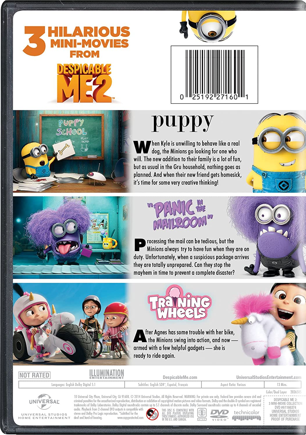 Amazon despicable me 2 3 mini movie collection pierre amazon despicable me 2 3 mini movie collection pierre coffin miranda cosgrove elsie fisher yarrow cheney bruno dequier fabrice joubert biocorpaavc Image collections