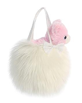 aa1c528008a Aurora World 32777 8-Inch Fancy Pal Cat Plush Toy in Bag (White ...