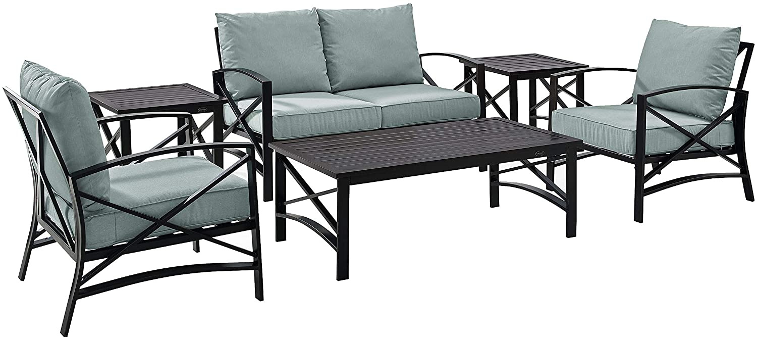 Amazon Com Crosley Furniture Ko60017bz Mi Kaplan 6 Piece Outdoor
