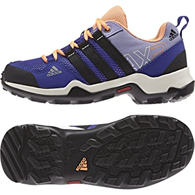 Amazon.com | Adidas Outdoor Kid's AX 2 Lace Up Purple Sneakers 11K M |  Hiking Boots
