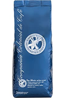 Cafe en Grano Natural Arabica 100% 1kg – Café Espresso Intenso con Mezcla de Origen