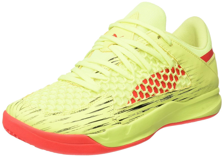 Puma Evospeed Indoor Nf Euro 4, Zapatillas de Deporte Interior Unisex Adulto 44 EU Amarillo (Fizzy Yellow-red Blast-puma Black)