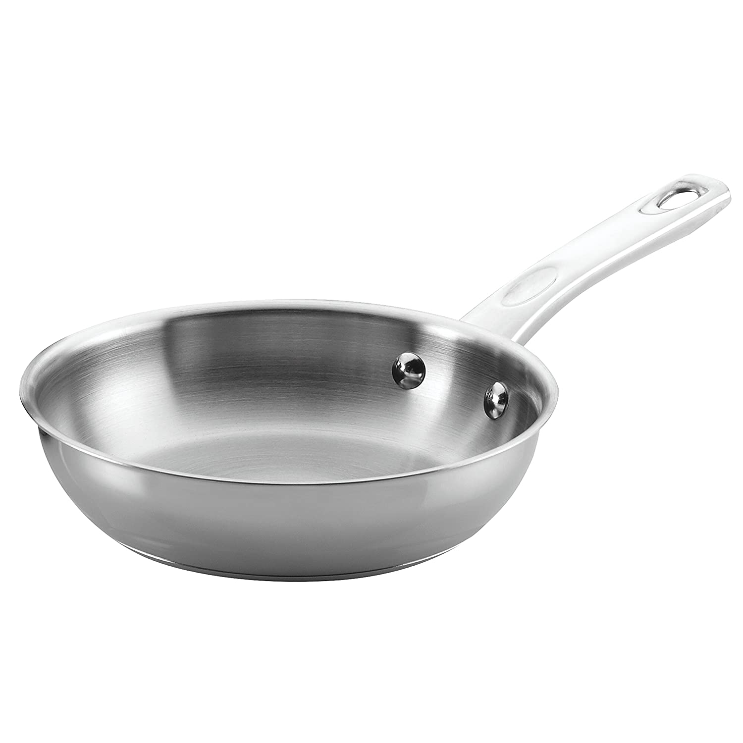 Ayesha Curry 70204 Steel Skillet, Small, Stainless
