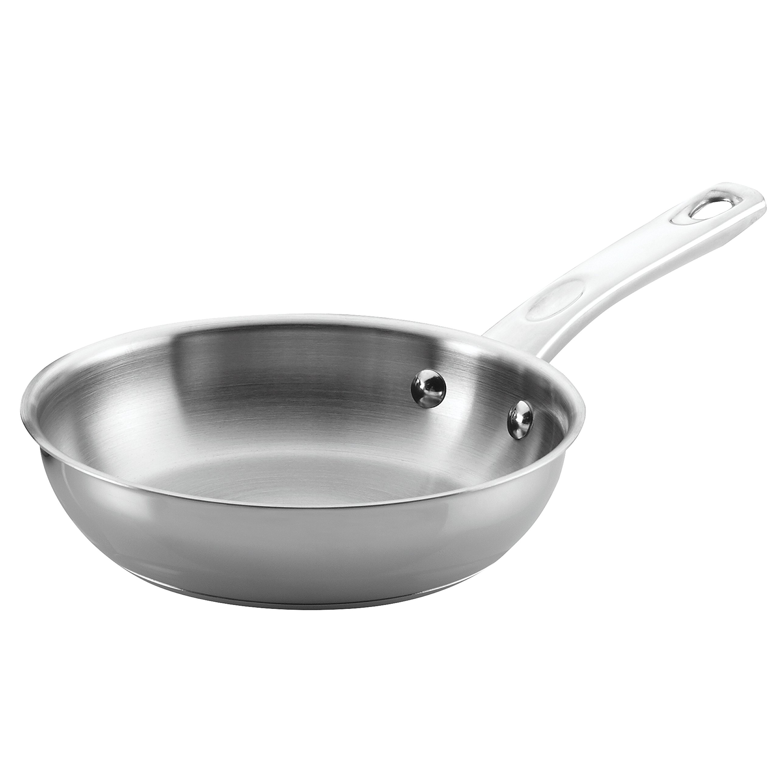 Ayesha Curry Home Collection Stainless Steel Skillet, 8.5-Inch